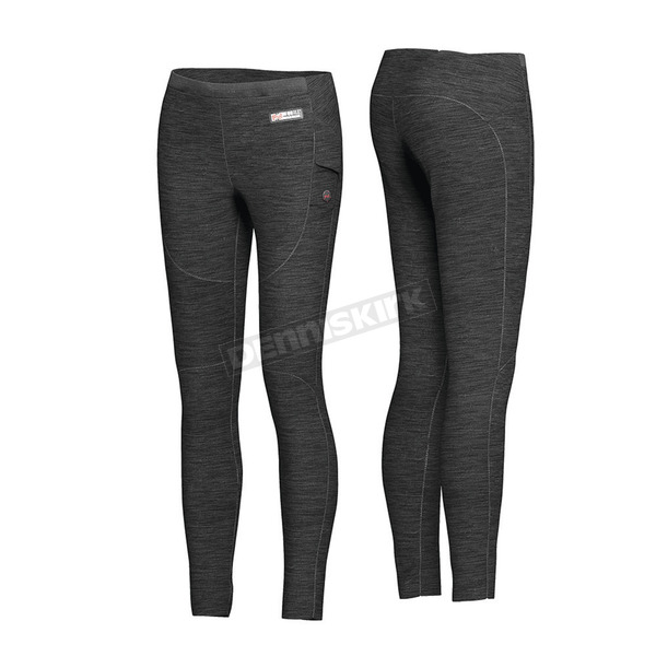 Women's Black 7.4V Heated Ion Base Layer Pants - MWWP10010420