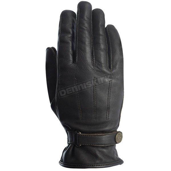 Women's Black Radley Short Leather Gloves - GW300M