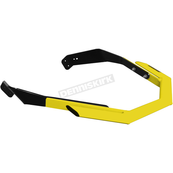 StraightLine Performance Flo Yellow Aluminum Sport Series Front Bumper - 183-227-FLOYEL
