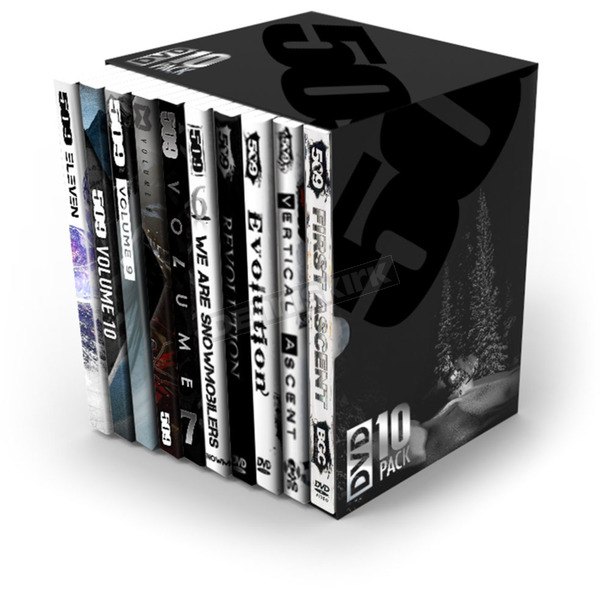 509 DVD 10 Pack - Collectors Edition - 509-DVD-10PK