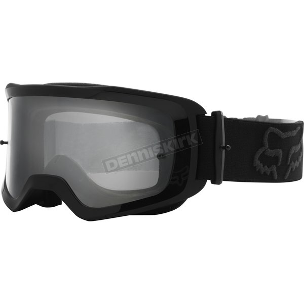 Youth Black Main Stray Goggles w/Clear Lens - 26472-001-OS