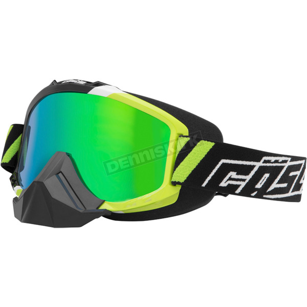 Castle X Green X1 Force SE Snow Goggles w/Mirrored Dual Lens - 64-1612