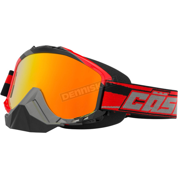 Castle X Red X2 Force SE Snow Goggles w/Mirrored Dual Lens - 64-1723