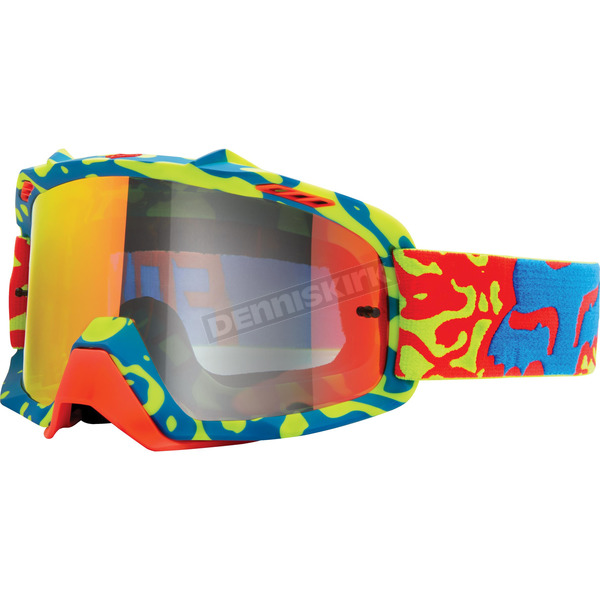 Fox Youth Yellow/Red/Clear Cauz Air Space Goggles - 15360-901-NS