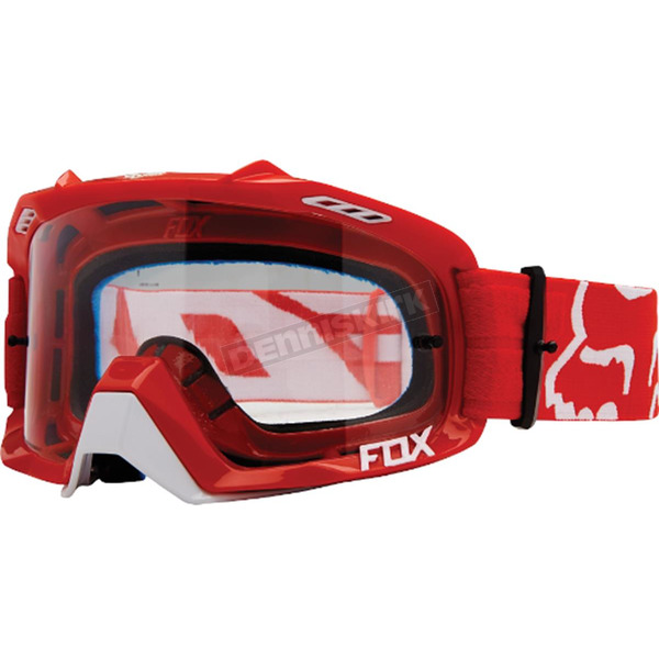 Fox Red/Clear Air Defence Goggles - 14594-902-NS