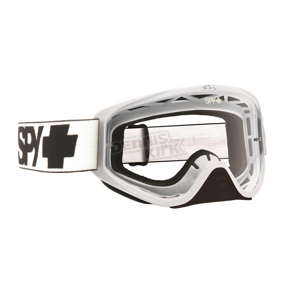 Spy Optic White Woot Goggle w/ Clear AFP Lens - 323346632100