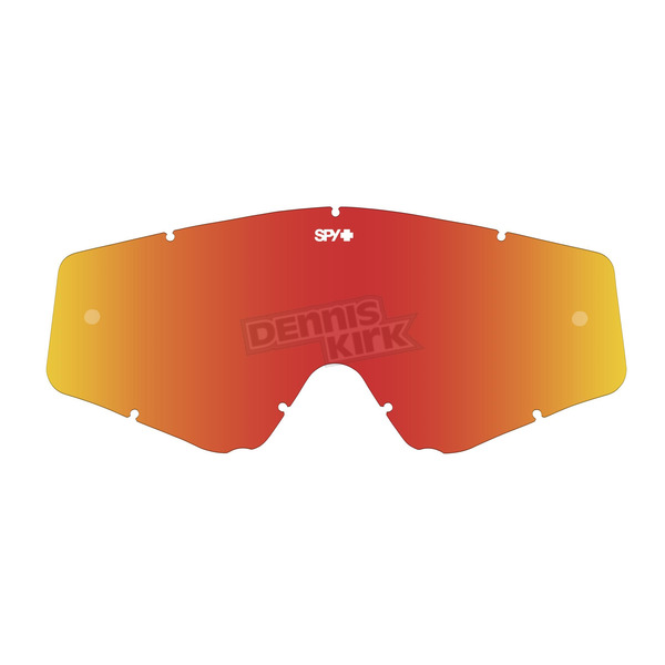Spy Optic Smoke/Red Spectra Lens for Omen Goggle  - 093129000842