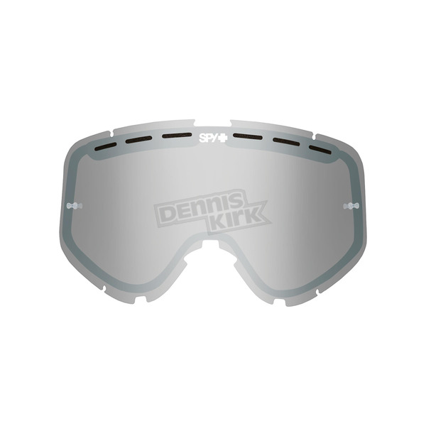 Spy Optic Smoke w/Silver Mirror Replacement Lens For Woot/Woot Race Goggle  - 093346000213