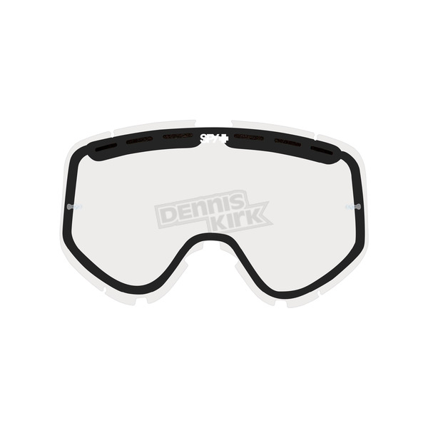 Spy Optic Clear Replacement Lens For Woot/Woot Race Goggle  - 093346000097