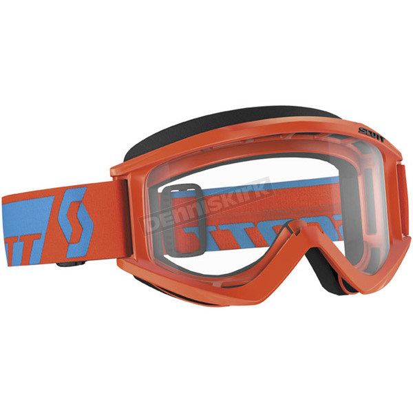 Scott Orange Recoil XI Goggle w/Clear Lens - 240591-0036043