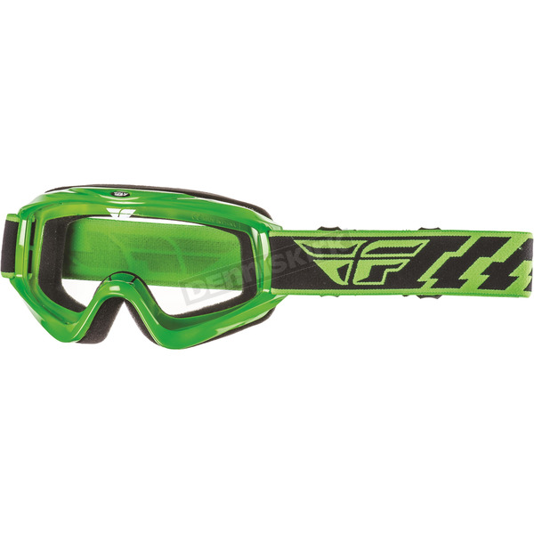 Fly Racing Green Focus Goggles - 37-3005