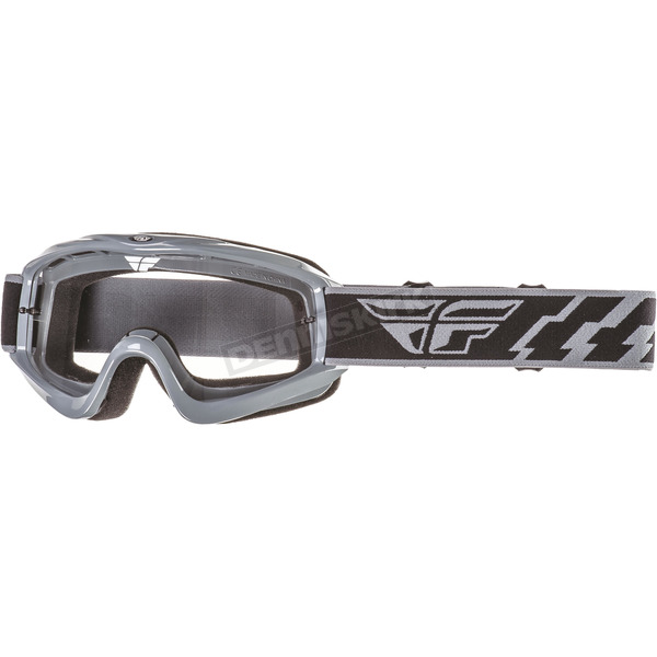 Fly Racing Gray Focus Goggles - 37-3006