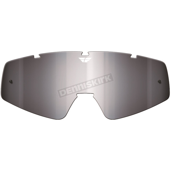 Chrome/Smoke Replacement Lens for Zone/Focus Goggles - 37-2404