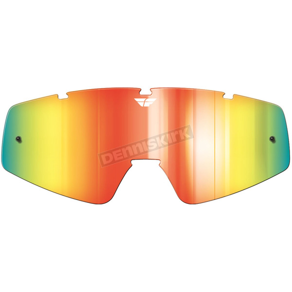 Fly Racing Fire Mirror/Smoke Replacement Lens for Zone/Focus Goggles - 37-2406