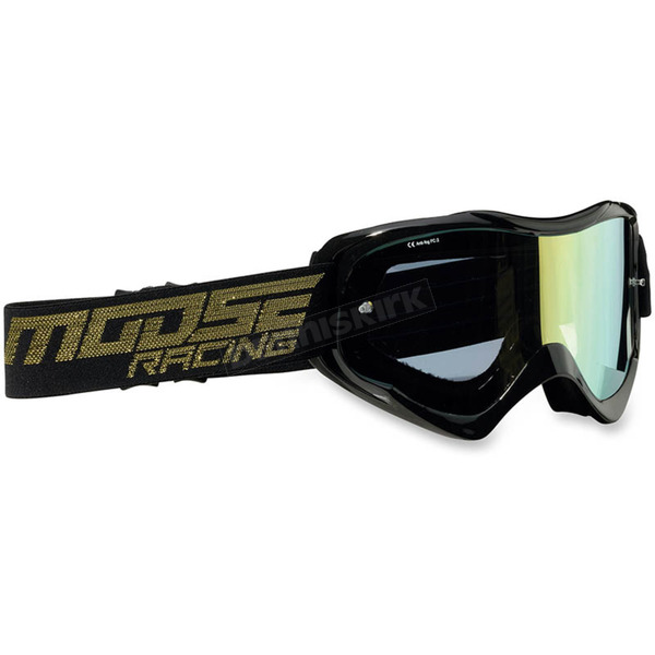 Moose Black Qualifier Shade Goggles - 2601-2112