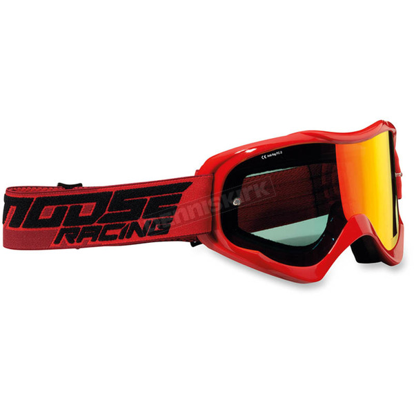 Moose Red Qualifier Shade Goggles - 2601-2114