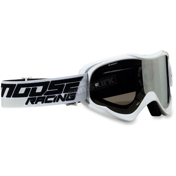 Moose White Qualifier Shade Goggles - 2601-2115