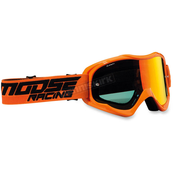 Moose Orange Qualifier Shade Goggles - 2601-2117