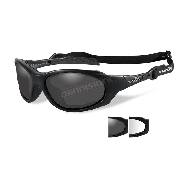 Wiley X Matte Black XL-1 Sunglasses w/Gray/Clear Lens - 291