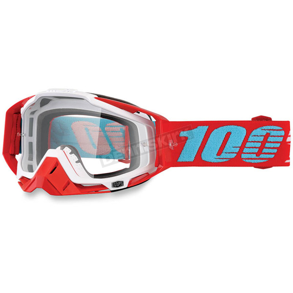 100% Racecraft Kepler Goggles w/Clear Lens - 50100-189-02