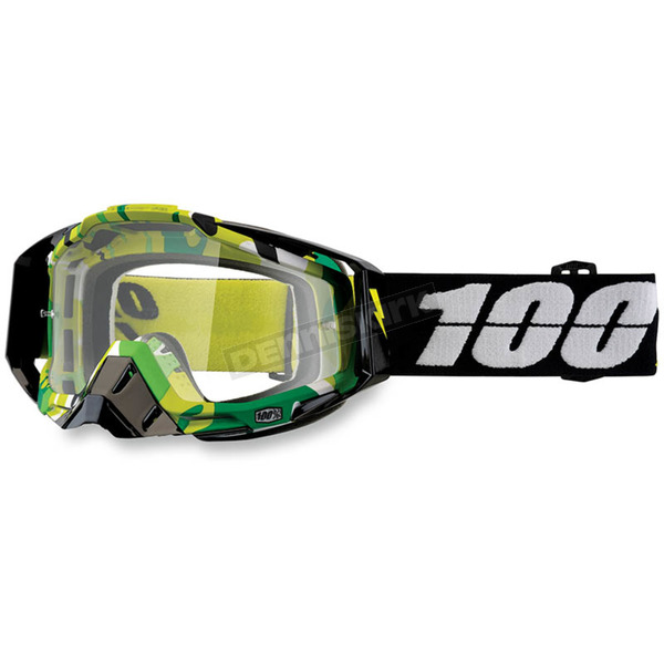 100% Racecraft Bootcamp Goggles w/Clear Lens - 50100-194-02