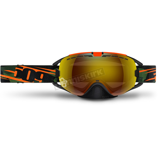 509 Orange Camo Revolver Goggles w/Fire Mirror/Rose Tint Lens - 509-REVGOG-17-OC