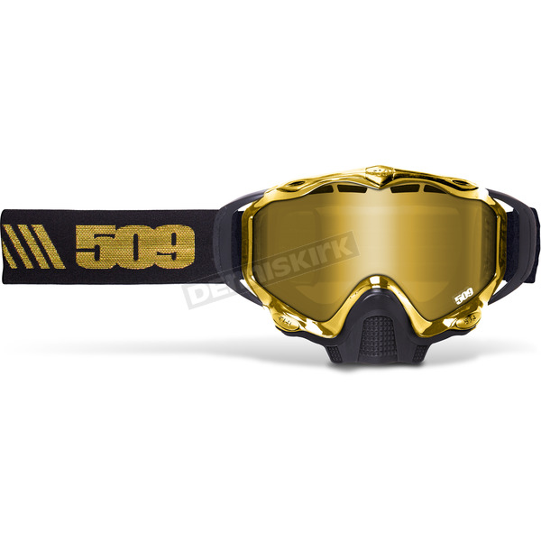 509 Gold Sinister X5 Goggles w/Gold Mirror/Yellow Tint Lens - 509-X5GOG-16-GD