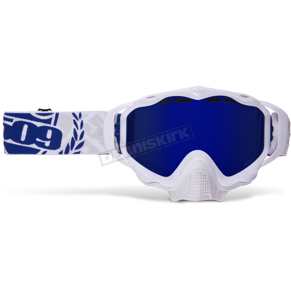 509 Ice Sinister X5 Goggles w/Blue Mirror/Blue Tint Lens - 509-X5GOG-13-IC