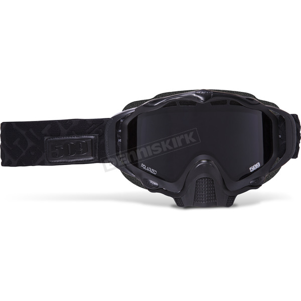 509 Black Ops Sinister XL5 Goggles w/Polarized Smoke Lens - 509-XLGOG-17-BO