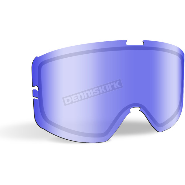 509 Blue Mirror/Blue Tint Replacement Lens for Kingpin Goggles - 509-KINLEN-17-BB