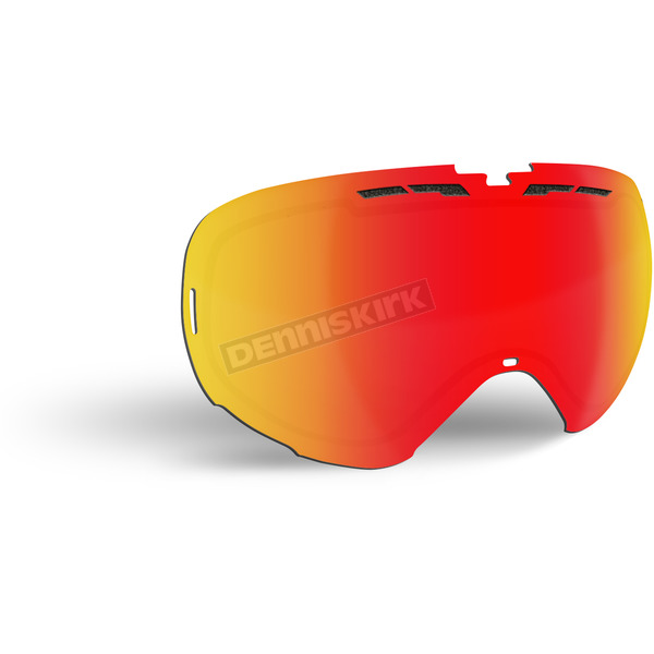 509 Fire Mirror/Rose Tint Replacement Lens for Revolver Goggles - 509-REVLEN-17-FR