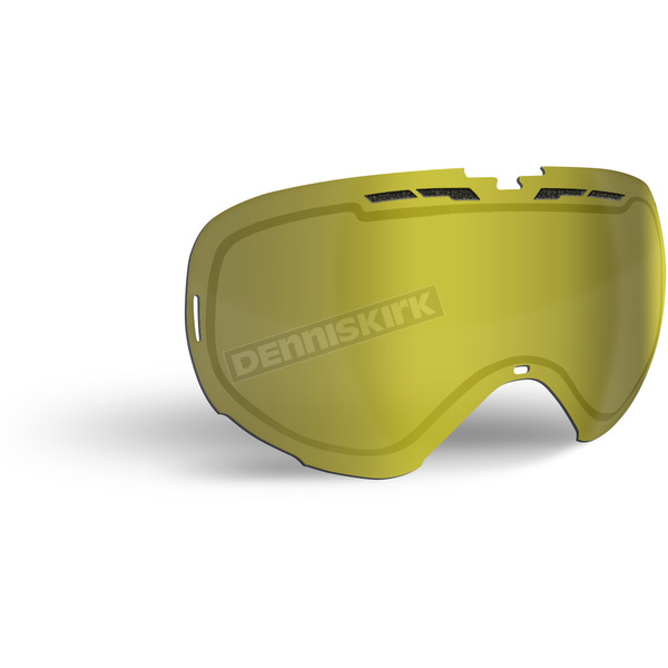 509 Gold Mirror/Yellow Tint Replacement Lens for Revolver Goggles - 509-REVLEN-17-GD