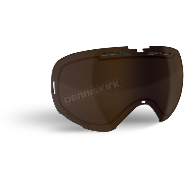 509 Polarized Bronze Replacement Lens for Revolver Goggles - 509-REVLEN-17-PBR