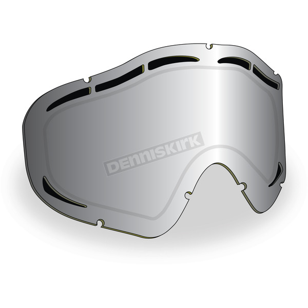 Chrome Mirror/Yellow Tint Maxvent Replacement Lens for Sinister X5 Goggles - 509-X5LEN-15-HCY