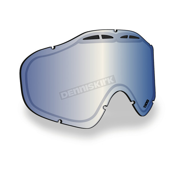 509 Blue Mirror/Orange Tint Replacement Lens for Sinister X5 Goggles - 509-X5LEN-13-BO