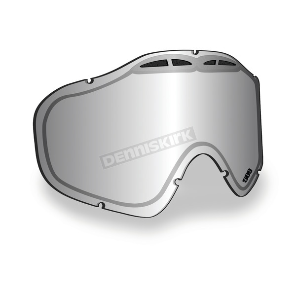509 Chrome Mirror/Yellow Tint Replacement Lens for Sinister X5 Goggles - 509-X5LEN-13-CY