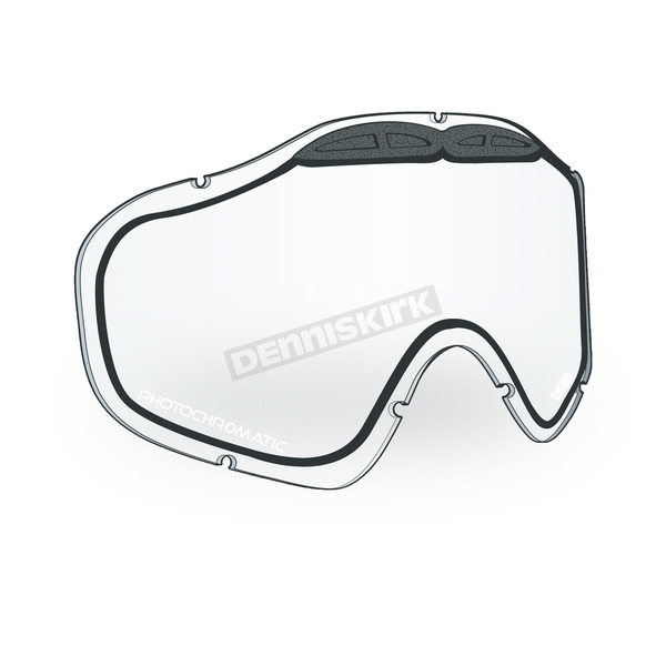 509 Photochromatic Clear to Blue Tint Replacement Lens for Sinister X5 Goggles - 509-X5LEN-16-PCB