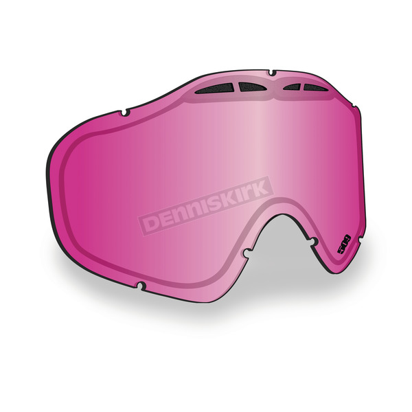 509 Pink Mirror/Rose Tint Replacement Lens for Sinister X5 Goggles - 509-X5LEN-13-PM