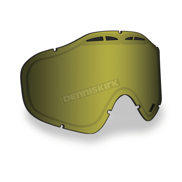 509 Polarized Yellow Replacement Lens for Sinister X5 Goggles - 509-X5LEN-13-PYL