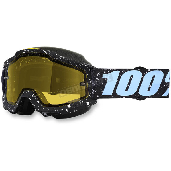 100% Accuri Milkyway Snow Goggles w/Dual Yellow Lens - 50203-196-02