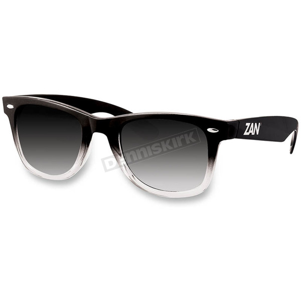 Zan Headgear Black Gradient Winna Sunglasses w/Smoke Lens - EZWA04