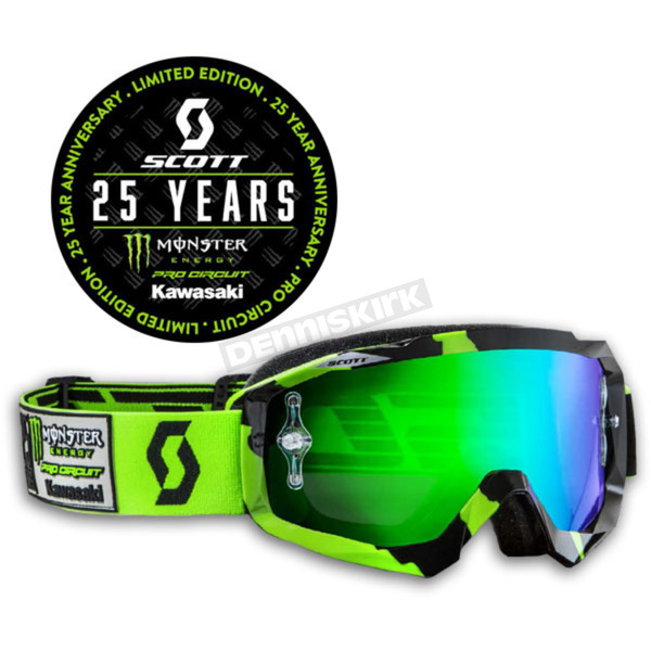 Scott Hustle Pro Circuit/ Monster Energy Limited Edition Goggles - 251847-1043279