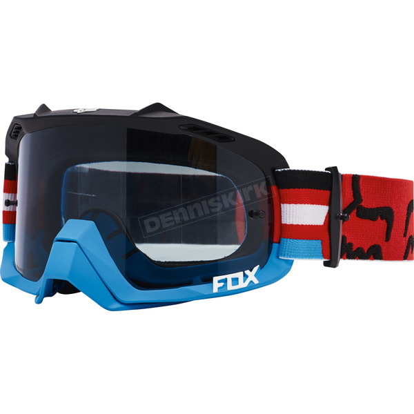 Fox Red Air Defence Seca Goggles - 18429-003-NS