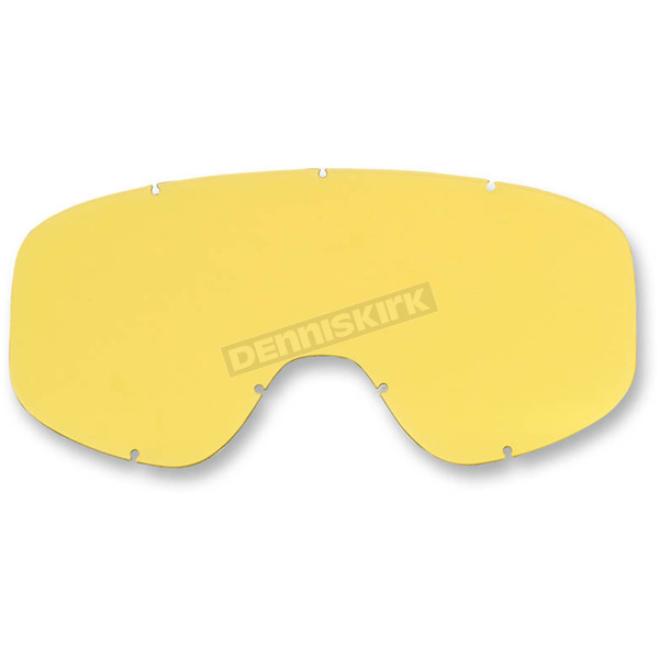 Biltwell Yellow Replacement Lens for Biltwell Moto 2.0 Goggles - M2YELSDLX