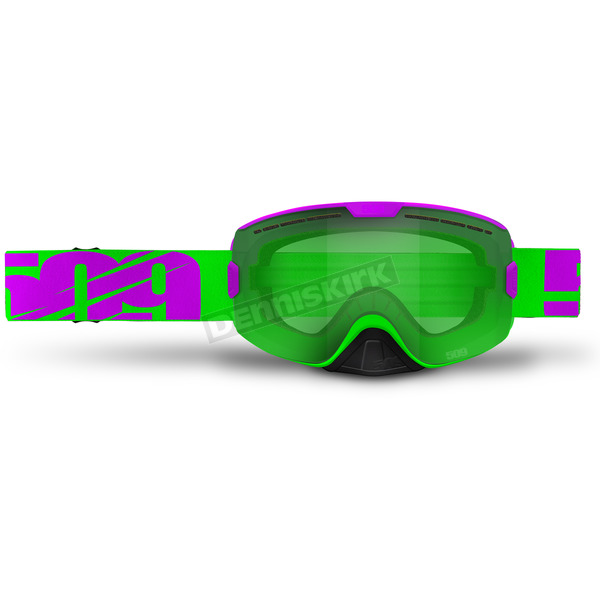509 Neon Purple Limited Edition Kingpin Goggles w/Lime Tint Lens - 509-KINGOG-17-NP