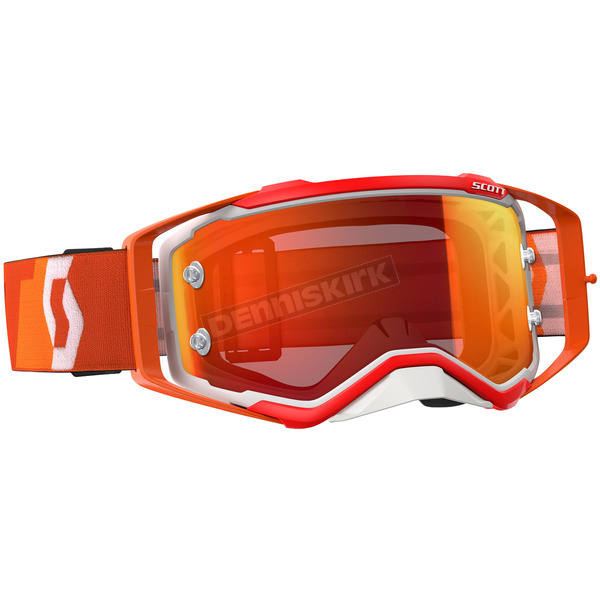Scott Orange/White Prospect Goggles w/Orange Chrome Lens - 246428-1362280