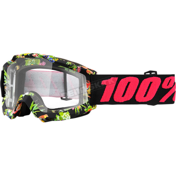 100% Accuri Chapter 11 Goggles w/Clear Anti-Fog Lens - 50200-209-02