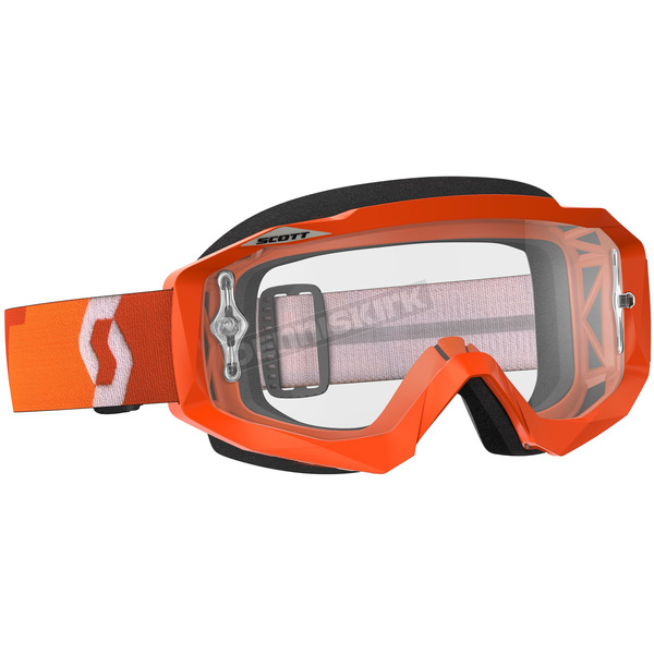 Scott Orange Hustle MX Goggles w/Clear Lens - 246430-0036113