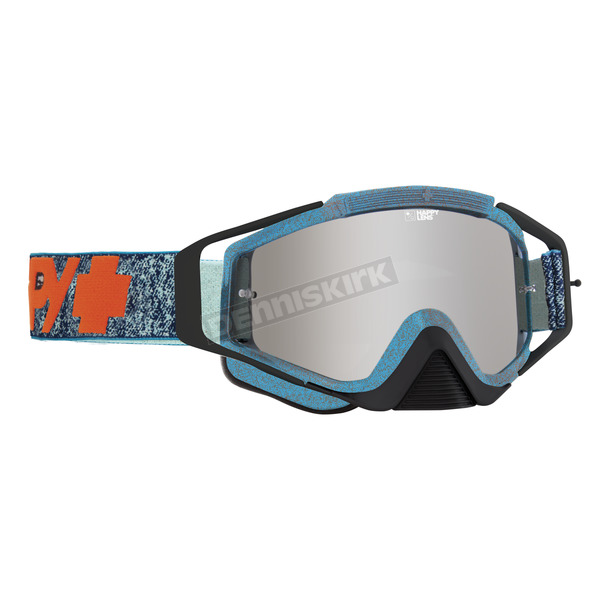 Spy Optic Stone Wash Omen Goggle w/Happy Bronze/Silver Mirror Lens - 323129733483