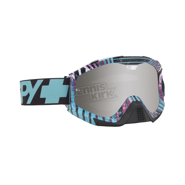 Spy Optic Infinite Teal Klutch Goggle w/Happy Bronze/Silver Mirror Lens - 322017748483